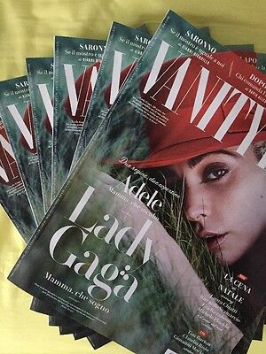 Lady Gaga Vanity Fair Italy Joanne New Adele Dec Dicembre 2016 Million Reasons