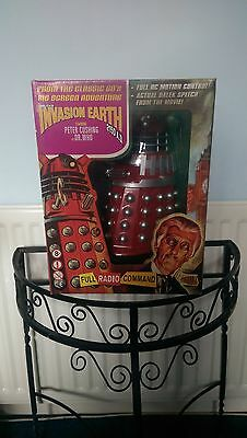 "Doctor Who: 12"" Movie Dalek (Red) (Dr Who) - Very Rare"