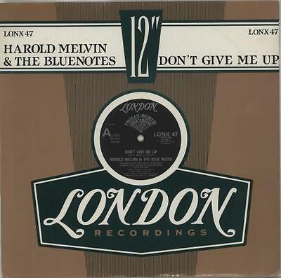 """Harold Melvin & The Blu... 12""""  record (Maxi) Don't Give Me Up UK"""