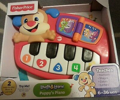 Fisher Price puppy's piano