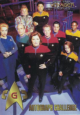 Star Trek Voyager Profiles  1998 Trading Card Set (90 Cards + Bonus )
