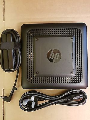 Hp T520 Thin Client + Psu + ( 32Gbf / 4Gbr / Win 8 ) Re-Imaged Back To Factory