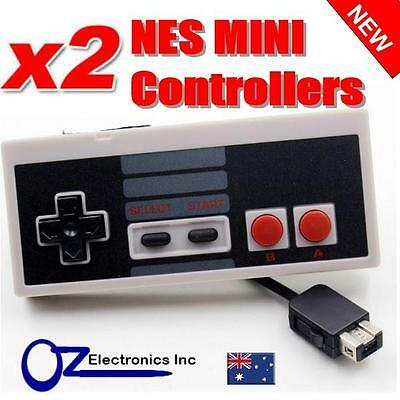 2 x Controller for NES Mini Nintendo Brand New Free Shipping from Melbourne
