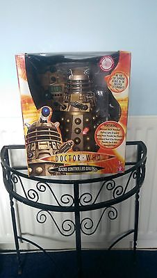 Dr Who 12inch Collectible Gold Remote Control Dalek (Very Rare)