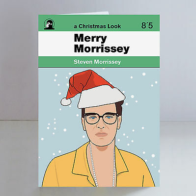Morrissey Ltd Edition A5 Christmas Card The Smiths Indie Johnny Marr