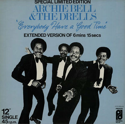 """Archie Bell & The Drells Everybody Have ... 12""""  record (Maxi) UK"""