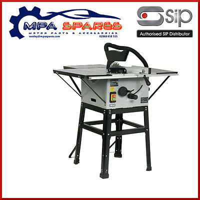 "SIP 01930 10"" TABLE SAW - WITH STAND AND REAR TABLE - 1.6kW 4800rpm"