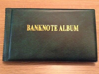 Banknote Album. Contains 40+ World Banknotes. All Different.