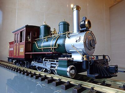 LGB 20251 S.R.&R.L. Forney Locomotive Smoke & Light boxed EXCELLENT G Scale