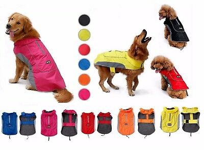 SMALL, LARGE, GIANT dog waterproof warm winter high quality coat jacket clothes
