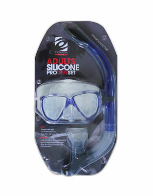 Typhoon Adult Silicone Pro Dive Snorkel Set