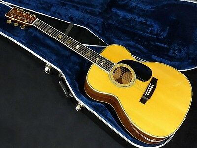 Martin 000-45 SQ NAT w/hard case Free shipping Guiter Bass From JAPAN #X1051
