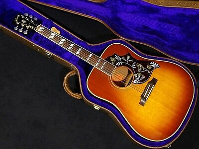Gibson Hummingbird NAT w/hard case Free shipping Guiter Bass From JAPAN #X1056