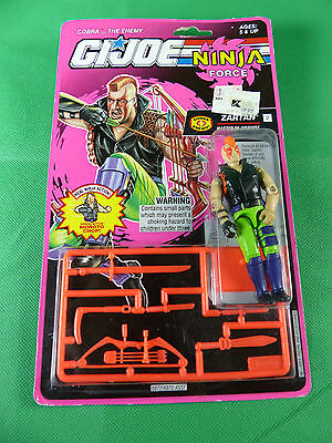 6872  GI Joe Ninja Force - Zartan  Action Figure  MOSC NOS 1992