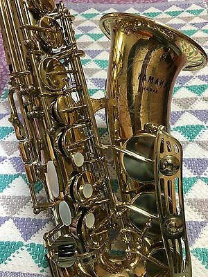 Vintage YAMAHA YAS-61  Early SERIAL Sweet Sound with RITTER CASE