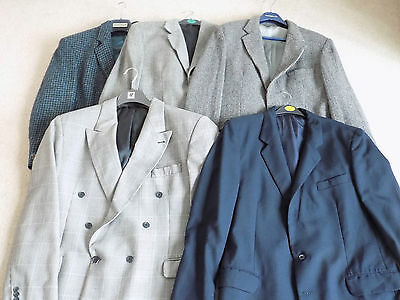 Wholesale Job Lot Men's Vintage Tweed Suit Dinner Casual Jackets Mixed Sizes