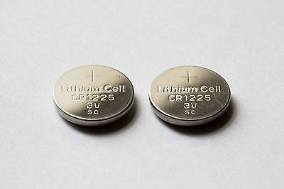 CR1225 (Similar to 1220)  Lithium 3V Button Battery x10 - Auction no reserve 49p