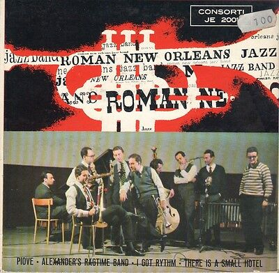 EP  Roman New Orleans Jazz Band  CONSORTI 1959  FONTANA JIMMY