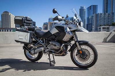 2008 BMW R-Series  2008 BMW R1200GS with BMW Cases and lots of extras