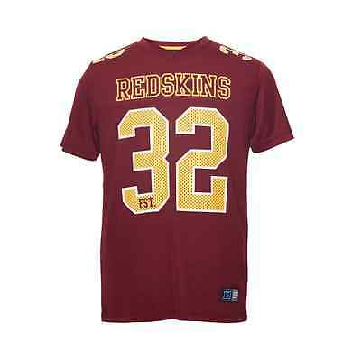 Majestic Athletic NFL Washington Redskins Game Poly Mesh T-Shirt