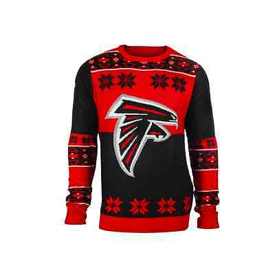 Forever Collectibles NFL Atlanta Falcons Big Logo Ugly Sweater