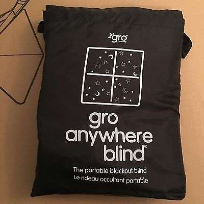 Gro Company Gro Anywhere Travel Blackout Blind Brand New With Tags