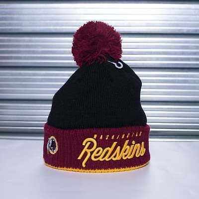New Era NFL Washington Redskins Pom Time Pom Knit