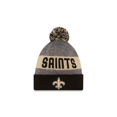 New Era NFL New Orleans Saints 2016 Youth Sideline Official Sport Knit