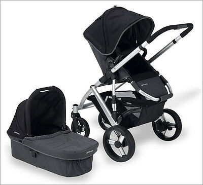 UPPAbaby Vista 2015 Black Stroller For Child Up To 50 Pounds Brand New In Box