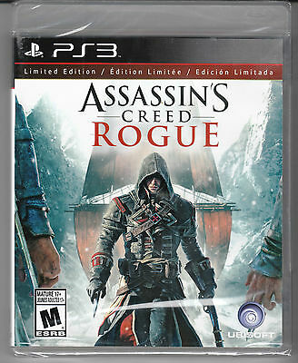 Assassin's Creed: Rogue -- Limited Edition PlayStation 3 **NEW**