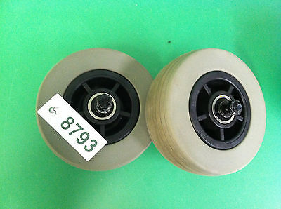 Front Caster Wheels for Quantum 600  ~set of 2 ~ 8793