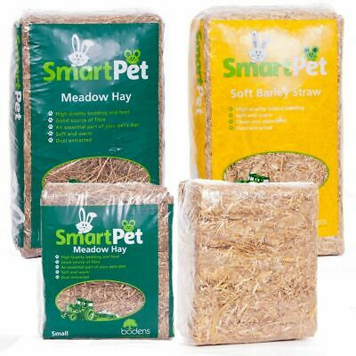 SmartPet Barley Straw & Meadow Hay Feed Bedding | Pet Hamster Rabbit Guinea Pig
