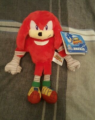 sonic boom 8 inch knuckles plush