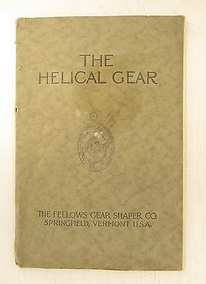 1919 Book on The Helical Gear; Design, Application and Production.