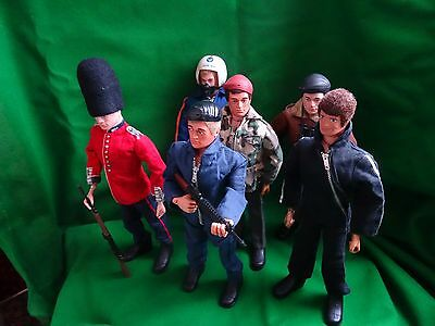 Vintage Action Man - Palitoy  Job Lot With Clothes & Accessories