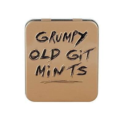 Grumpy Old Git Mints - 45g Tin of sugar free mints - Office Manager Novelty Gift