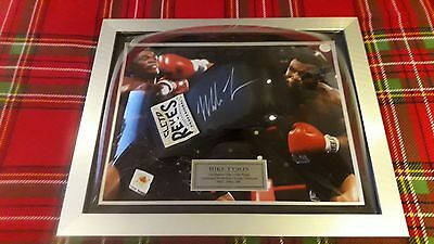 Hand Signed Cleto Reyes Autograph Boxing Glove By Mike Tyson