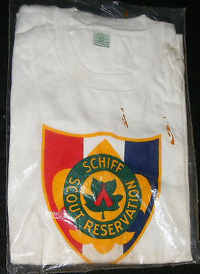 Boy Scout Schiff Scout Reservation New Jersey Vintage Tee Shirt Never Used