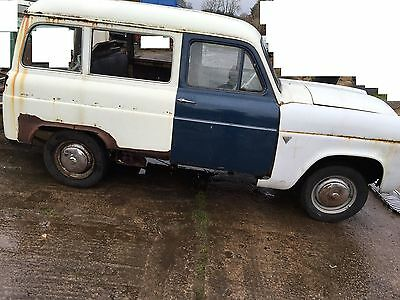 FORD squire van/estate to restore 1955  NO RESERVE AUCTIION  hot rod  custom car