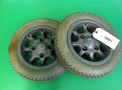 Wheels & Tires for Quickie P220  Power Wheelchair  #8801