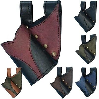 Victory Leather Sword Holder - 6 Colours - Perfect For Stage Costume & LARP