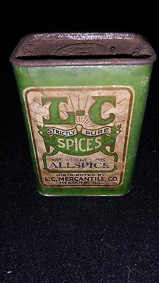 Vintage L-C Strictly Pure Spices Allspice