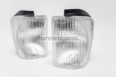 VW Scirocco MK2 81-92 Clear Front Indicators Repeaters Set Pair Left Right