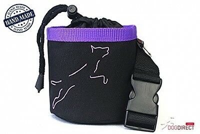 DOG TREAT BAG With A BELT / POUCH / SACHET / BAG For Dogs Snacks HAND MADE DOG