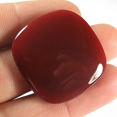 Cushion Cabochon 37.10 Cts. Natural CARNELIAN Loose Gemstone 30x30 mm Bestseller