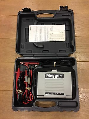 Megger MIT320 Insulation and Continuity Tester with leads, probe and carry case