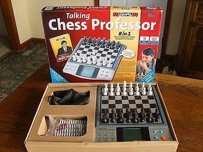 Electronic Chess Millenium Talking Chess Computer - Tells You The Moves!!