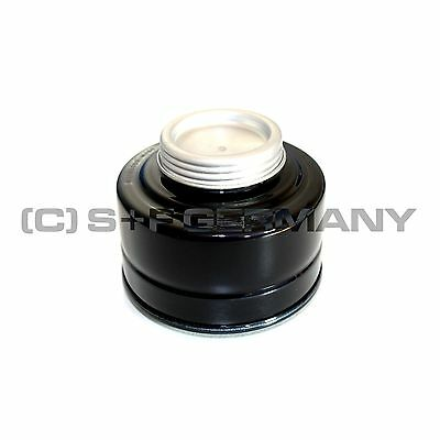 █ Deluxe Gas Mask Filter Black 60Mm For Latex Cosplay Fetish Hood Heavy Rubber █