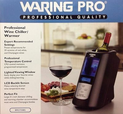 Waring Pro Professional Wine Chiller/Warmer BRAND NEW HURRY!!