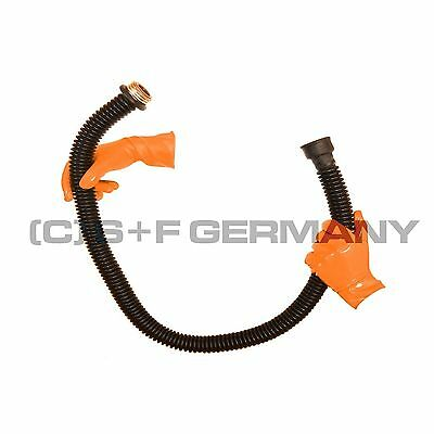 █ Deluxe Gas Mask Latex Rubber Tube 100Cm 40 Inch Hose For Hood Heavy Rubber █